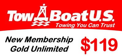 TowBoatUs Gold Unlimited Towing $119